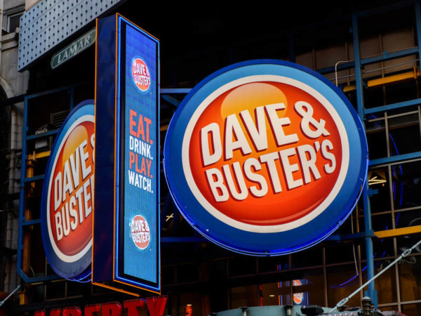 Dave & Buster's Events