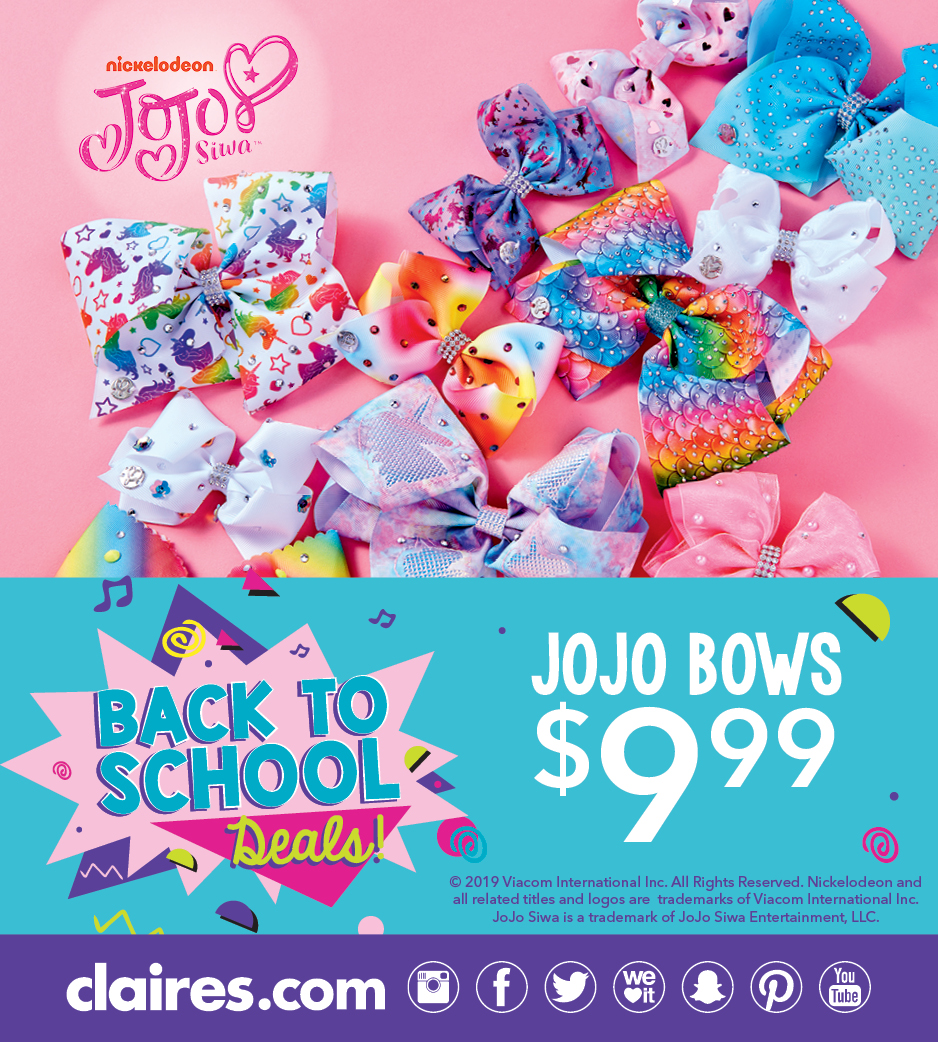 Beautiful Bows for Back to School