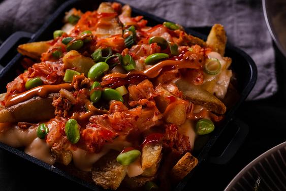 New Menu Item — Kimchi Fries