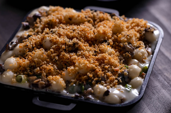 New Menu Item — Asian Mac and Cheese