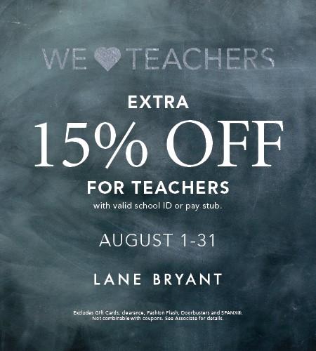 Teacher's Discount