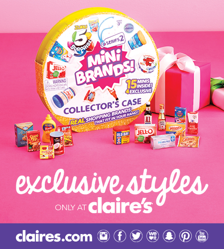 Exclusive Styles at Claire's!