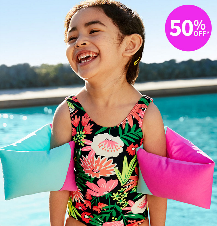 Save 50% on Warm Weather Fashion