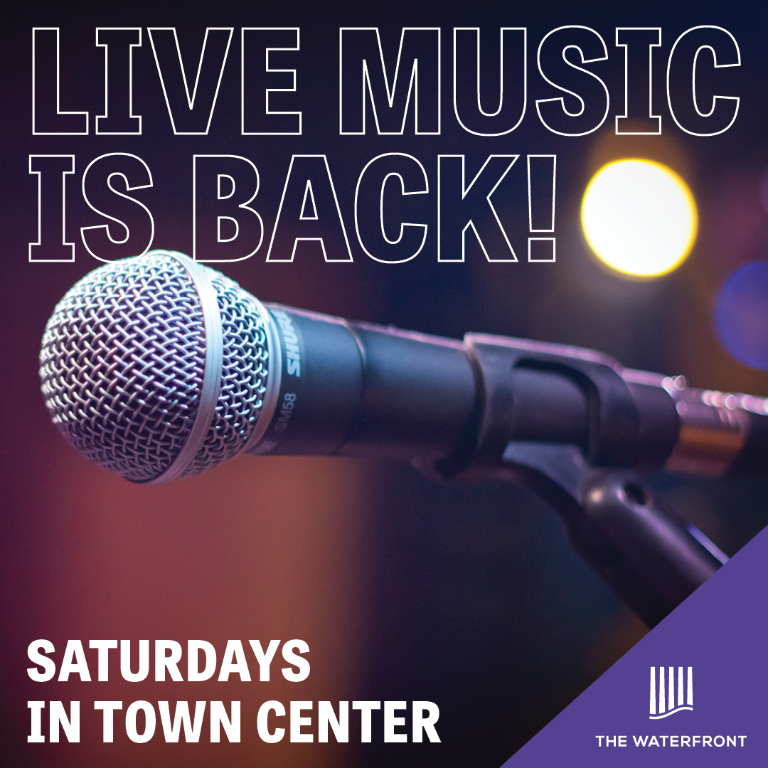 Live Music is Back at The Waterfront!