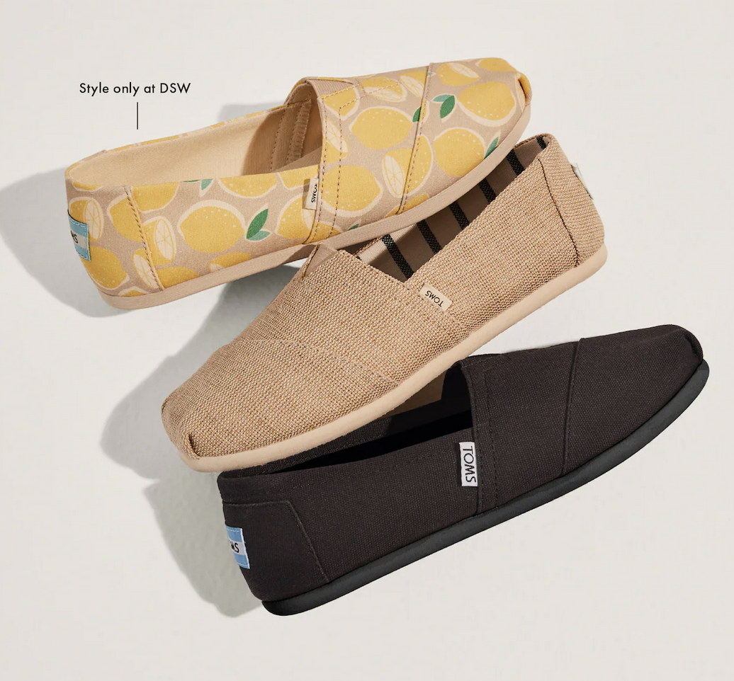 New from Toms