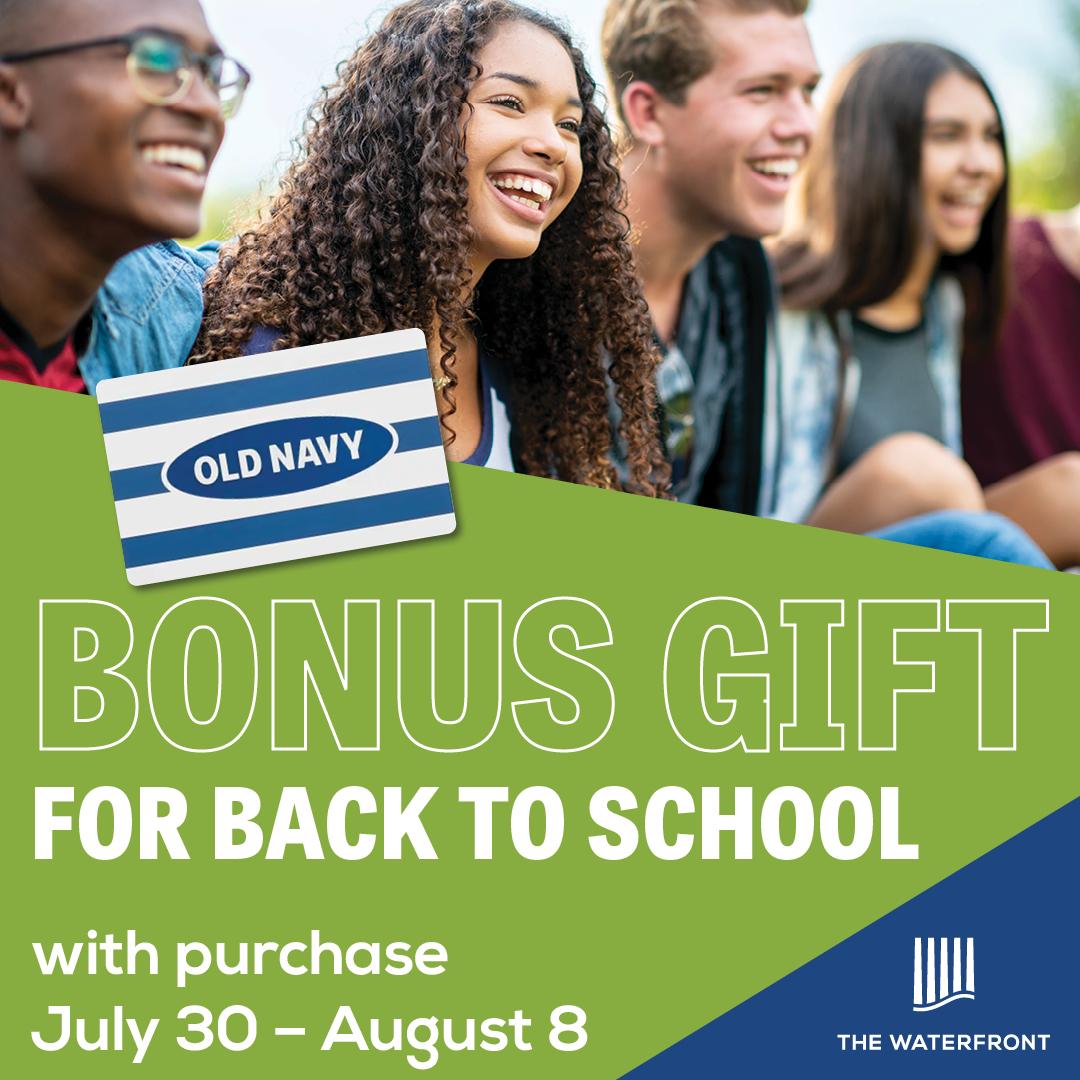 Bonus Gift for Back to School