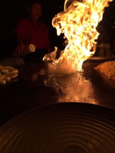 Yosoko cooking flame
