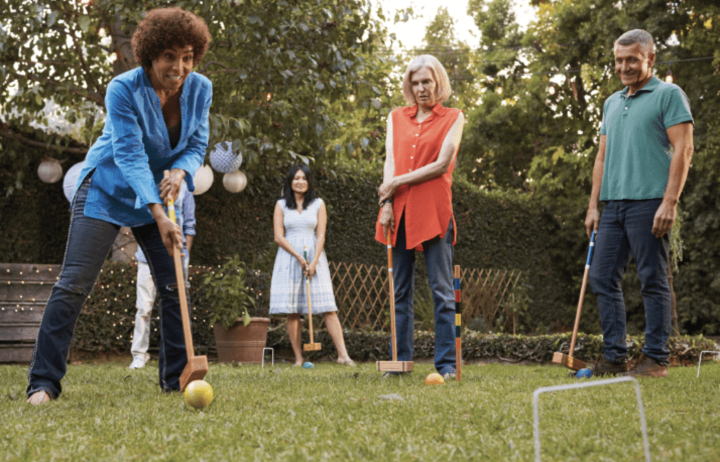 Win Retro Lawn Games in this Month's Sweepstakes!
